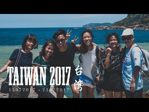 TAIWAN TRAVEL LOG: JULY 2017