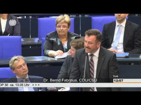 Fabritius: Grüne nicht bereit, gemeinsame Versöhnungsleistungen anzuerkennen