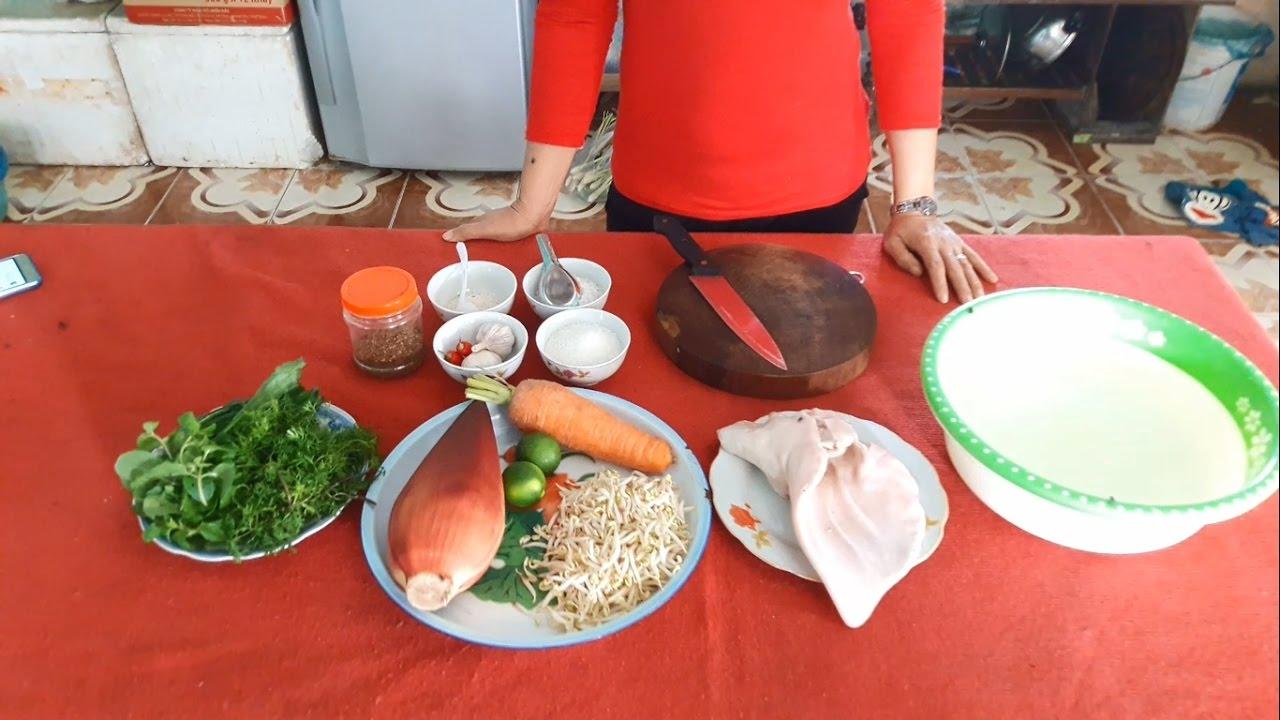 Cách làm nộm hoa chuối tai lợn thơm ngon, trắng giòn| Dạy nấu ăn