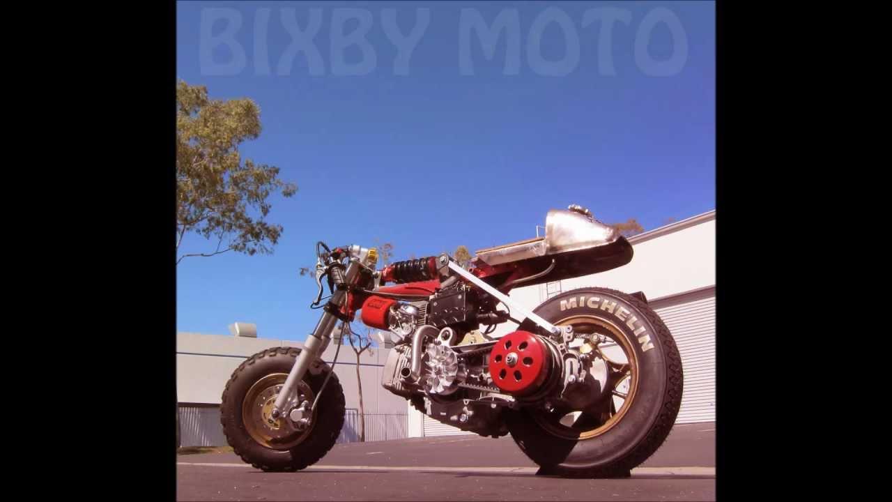 Honda Z50 Ruckus Gy6 Drag Bike 1972 Vintage Cafe Racer