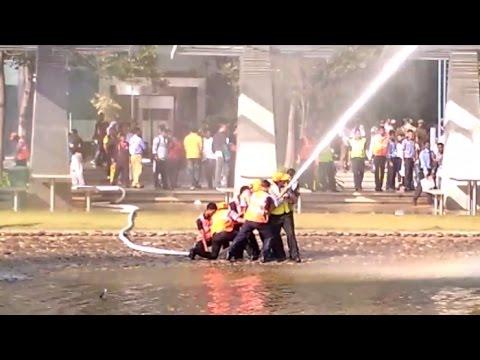 Fire Drill at World Trade Center (WTC) Orion Mall Bangalore [HD]