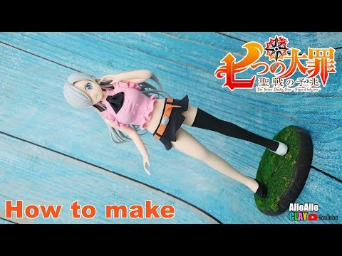 The Seven Deadly Sins(ELIZABESU LIONES)┃How To Make┃Clay Tutorial┃Anime