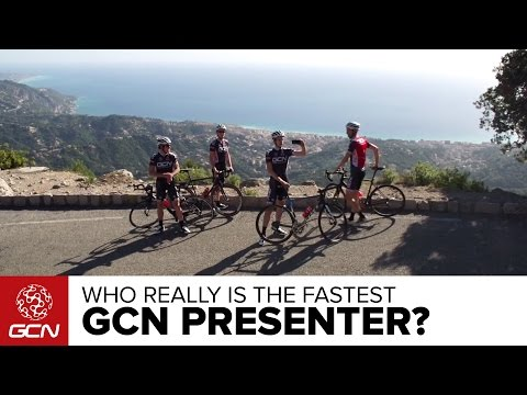 The GCN Presenter Race - Who Is Actually The Fastest?!