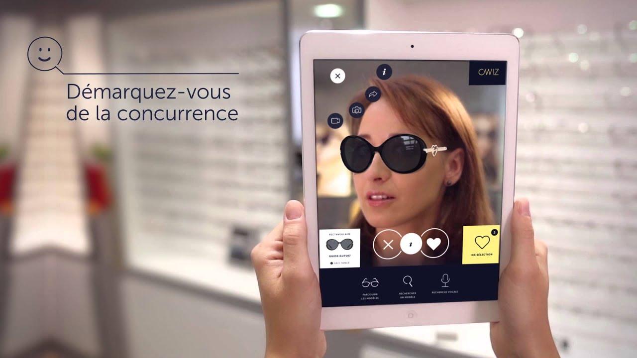 Promotion de ventes grandes variétés prix plancher OWIZ : l'essayage virtuel de lunettes en réalité augmentée ...