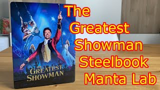 The Greatest Showman Steelbook Manta Lab