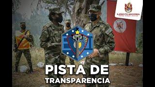 Conozca la Pista de Transparencia del Ejército Nacional