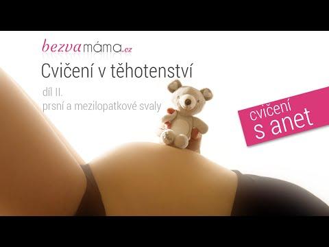 Nejúčinnější cvičení v těhotenství - 2. trimestr, 5. díl