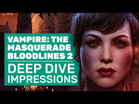 Vampire: The Masquerade - Bloodlines 2 Gameplay Deep Dive | New Gamescom Impressions