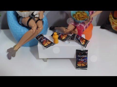 Barbie Yenilebilir Doritos 2.0 Cips yapımı - Bidünya Oyuncak