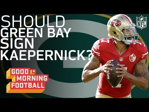 Would Colin Kaepernick be a Good Fit in the Green Bay Packers Offense? | GMFB | NFL Network