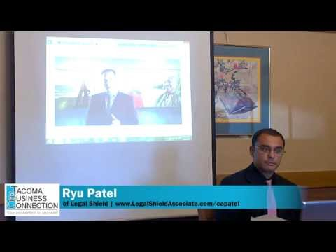 Ryal Patel discusses prepaid legal with the Tacoma Business Connection