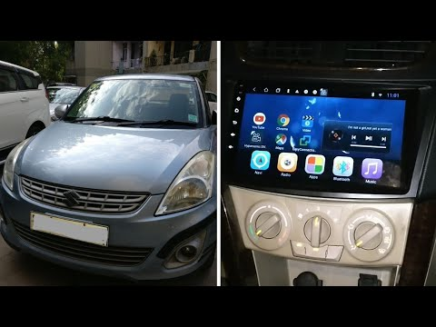 Maruti Swift dzire | Installed Hypersonic Android Stereo  | Music and Navigation System