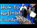How To Refinish Countertops