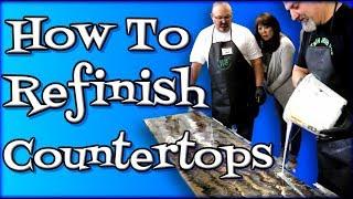 How To Refinish Countertops thumbnail