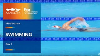 RE-LIVE | Swimming Day 7 | Main Pool | FINA World Masters Championships 2019