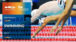 LIVE 🔴 | Swimming Day 7 | Main Pool | FINA World Masters Championships 2019