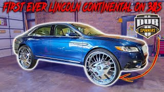 FIRST EVER LINCOLN CONTINENTAL ON 30INCH FLOATERS 🔥