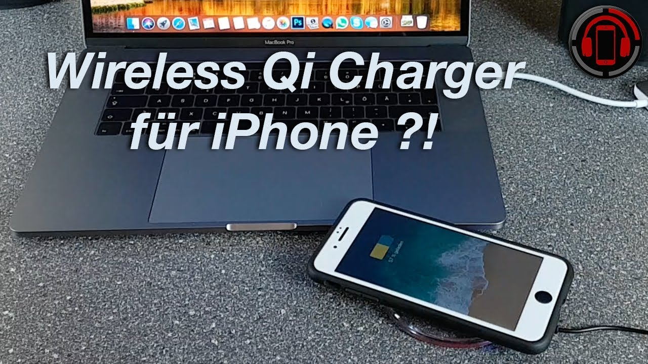 iphone kabellos laden wireless charger test deutsch german youtube. Black Bedroom Furniture Sets. Home Design Ideas