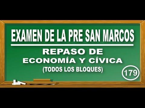REPASO DE ECONOMÍA Y CÍVICA: COMERCIO INTERNACIONAL-ESTADO PERUANO(3)/EXAMEN PRE SAN MARCOS