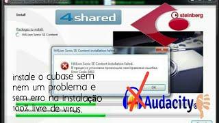 Como Baixar e Instalar o Cubase Sem Erro Sem Virus 2018 Aula(1