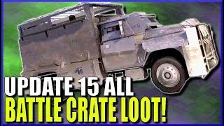 Ghost Recon Wildlands Update 15 ALL BATTLE CRATE LOOT!
