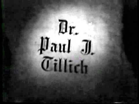 Paul Tillich on Christian faith and symbolism