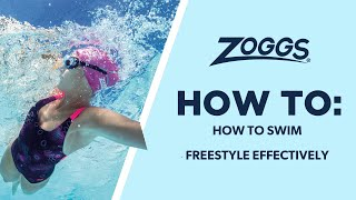 Freestyle (Front crawl) - how to swim this stroke efficiently