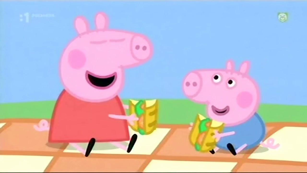 Prasiatko Peppa S01e15 Piknik Sk Hd Picnic