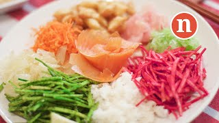 Yu Sang With Salmon (prosperity Toss) | Yusheng | 鱼生