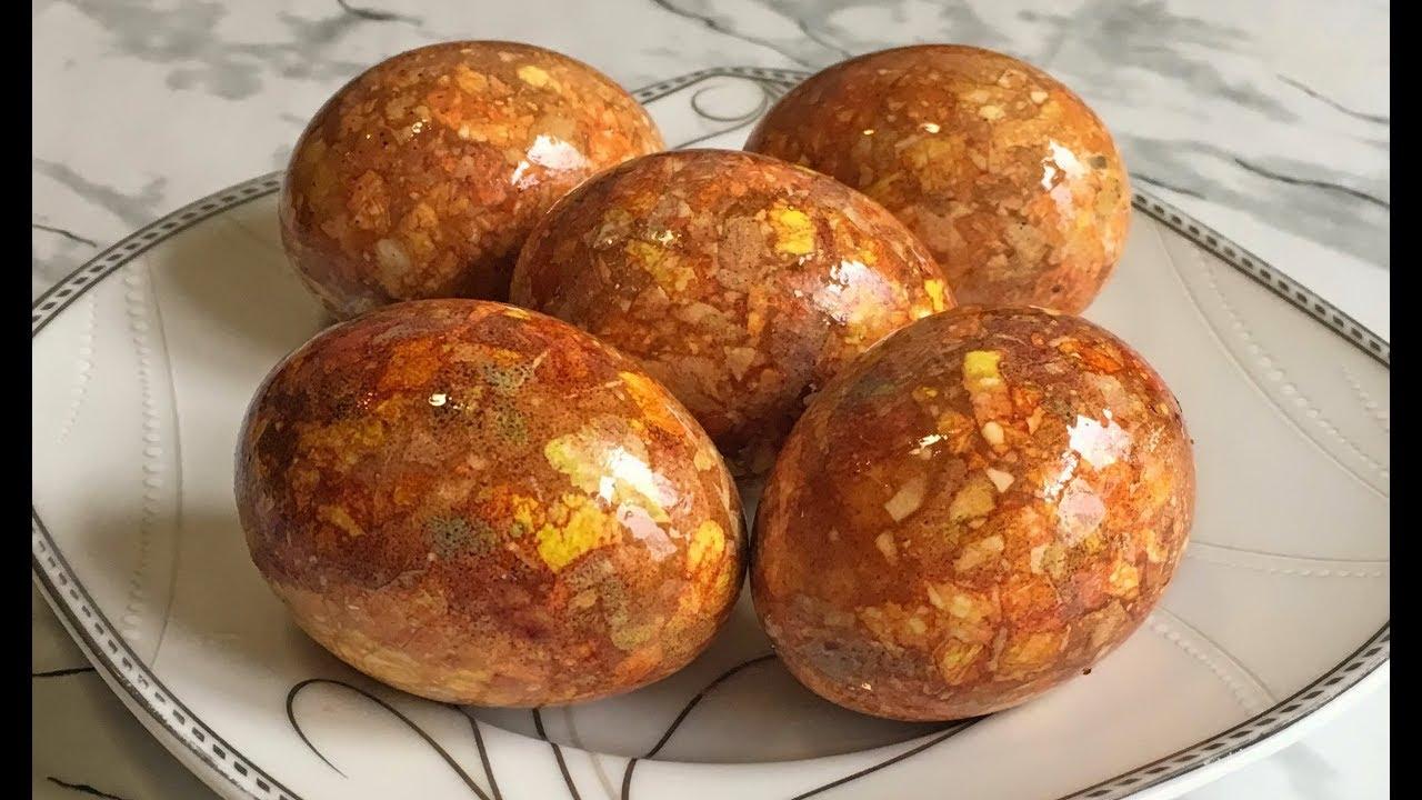 НОВЫЕ Мраморные Яйца!!! ЭКСПЕРИМЕНТ!!! / Яйца на Пасху ...