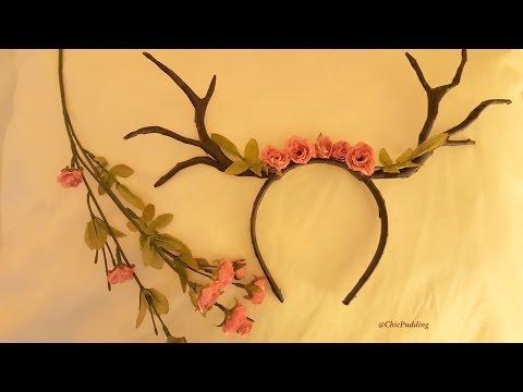 Halloween Deer Antlers DIY