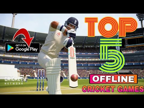 🔥TOP 5 [OFFLINE] CRICKET GAMES || TOP 5 CRICKET GAME || 2018 || BEST CRICKET GAME || ON ANDROID ||