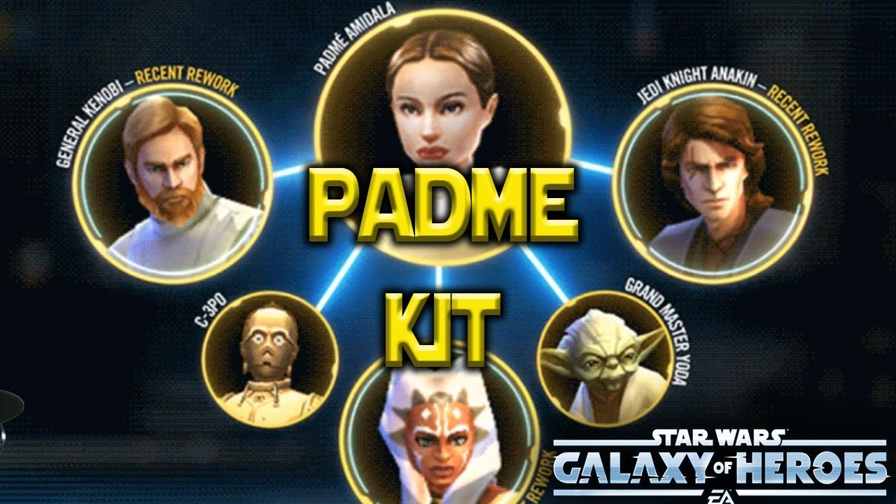 Anakin Zeta Padme Kit Dooku/Nute Reworks - Star Wars: Galaxy of