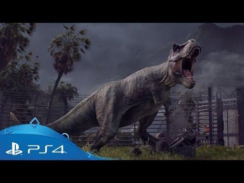 Jurassic World Evolution   Announcement Trailer   PS4