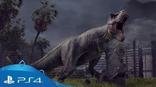 Jurassic World Evolution | Announcement Trailer | PS4
