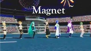 Repeat youtube video [MMD] *Magnet* 8 Vocaloids Chorus [Miku,Luka,Rin,Len,Gumi,Meiko,Gakupo,Kaito]