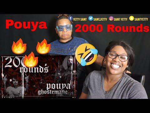 Mom reacts to Pouya X Ghostemane - 2000 Rounds   Reaction Ft. J100