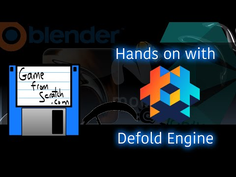 Defold Engine -- A Quick Hands On With King's New Game Engine