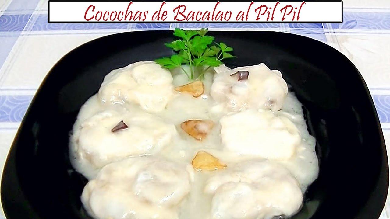 Como Cocinar Cocochas | Cocochas De Bacalao Al Pil Pil Receta De Cocina En Familia Youtube
