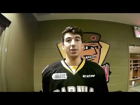 UHWK CAM // CHL Canada Russia Series - Jordan Kyrou POV