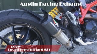 Top 8 Full Exhaust Sound Ducati Hypermotard 821/ Akrapovic, Zard, Mivv, Arrow