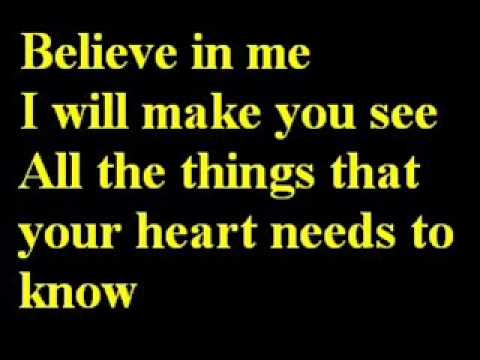 Celine Dion - To Love You More Lyrics
