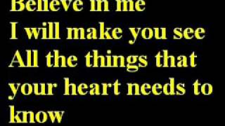 celine dion to love you more lyrics