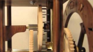 Wooden Geared Clock - Wee Willie