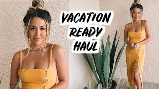 VACATION READY TRY ON HAUL | ALEXANDREA GARZA