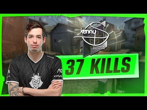 CSGO - kennyS 37 frags on Inferno @ FACEIT