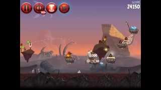 Angry Birds Star Wars II Naboo Invasion P2-S1 3 star walkthrough