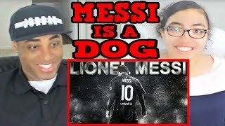 Messi is a Dog ● Messi es un Perro ● Never Dives ||HD|| REACTION