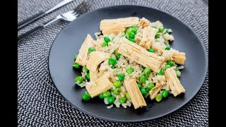 Салат со спаржей и бурым рисом | Рецепты Веган Vegan | Яна-Вегана