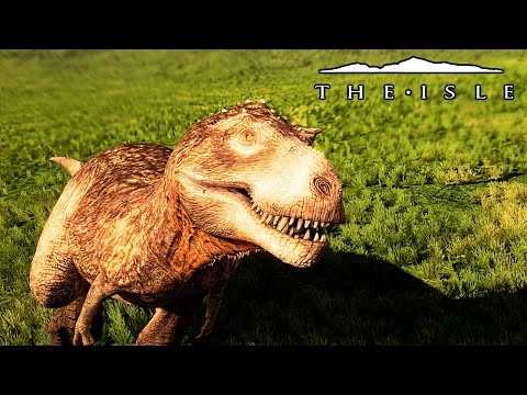 The Isle - UTAH POUNCE ANIMATIONS, OLD SCHOOL FEATHERED REX & UTAH PLAYS TAG W. HYPO ( Gameplay )